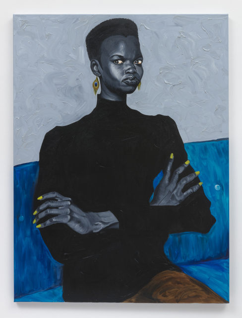 Nykhor on Blue Couch, 2019